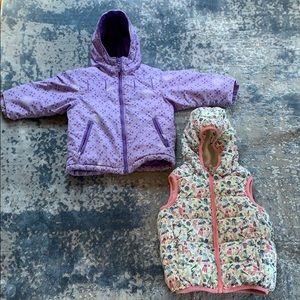 Coat and vest bundle